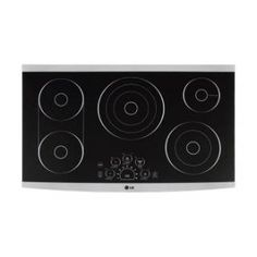"""Check out the LG Studio LSCE365ST 36"""" 5 Burner Radiant Cooktop in Stainless Steel priced at $1,249.00 at Homeclick.com."""