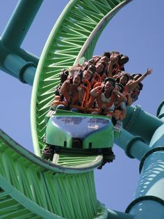 Returning to earth with a twist on Kingda Ka Kingda Ka, Six Flags Great Adventure, Greatest Adventure, Cool Coasters, Roller Coasters, Amusement Park Rides, Cedar Point, Fear Factor, Carnivals