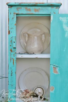 Homemade Chalk Paint Pie Safe