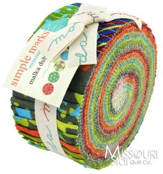 Simple Marks Summer Jelly Roll from Missouri Star Quilt Co