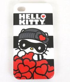 Hello Kitty Love Bandit iPhone Case