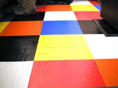Renter's Removable Solutions: Duct Tape Flooring