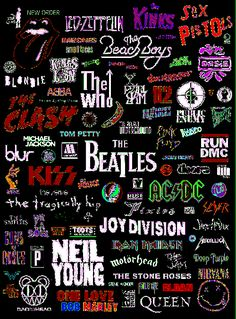 Music always brings inspiration . classic blues and rock albums always help to think and create So I Love Music, Music Is Life, Good Music, Blues, The Beatles, El Rock And Roll, Rock And Roll Tattoo, Rock And Roll Bands, Band Wallpapers