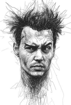 Expressive Ballpoint Pen drawing by Vince Low ( Malaysia )