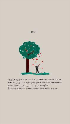 New Quotes Indonesia Motivasi Cinta Ideas New Quotes, Mood Quotes, Happy Quotes, Motivational Quotes, Life Quotes, Inspirational Quotes, Qoutes, Random Quotes, Heart Quotes
