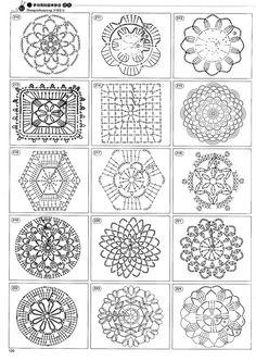 Blog DD: padrões de crochê