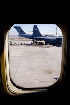 Through the Window by elrina753, via Flickr    Troop Transport!