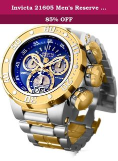Invicta 21605 Men's Reserve Subaqua Sea Dragon Quartz Chronograph Stainless Bracelet Watch. 21605 is amazing and popular by Invicta - a must-have product. Special outlet price for a limited time - don't miss out on this incredible deal!.