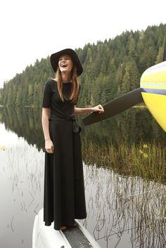 River Glade Dress Black