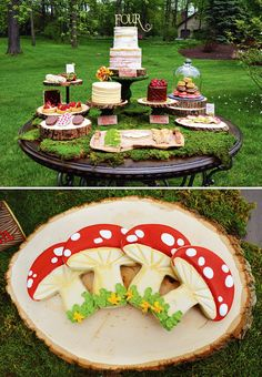 An Enchanted FOURest Birthday Party for Twins