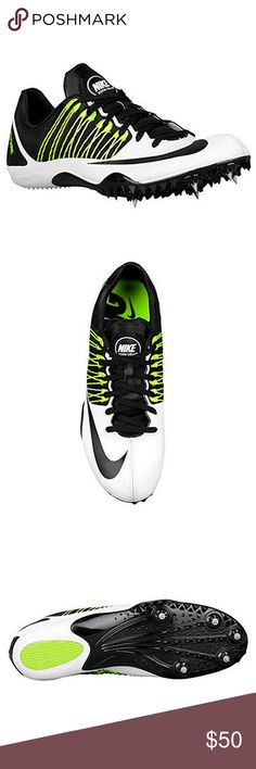 official photos f5a32 3a4ac Nike Zoom Celar 5 Sprint Track Spikes Shoes White Nike Zoom Celar 5 Sprint  Track Spikes
