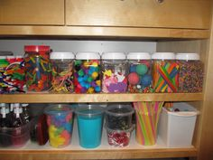 100 items to purchase from the dollar store and tons of ideas on how to play with them. This is a really good list for both home and the classroom.