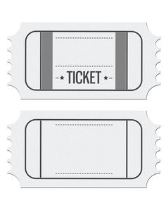 Blank Ticket Template Clipart regarding Blank Admission Ticket Template Movie Party Invitations, Party Tickets, Ticket Invitation, Movie Tickets, Graduation Invitations, Movie Ticket Template, Printable Tickets, Free Printable Birthday Invitations, Invitation Birthday