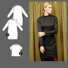 Dress/top - Stoff & Stil