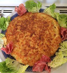 Gateau di patate fritto saporito