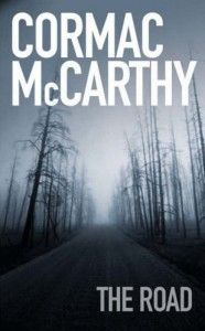 """""""Then they set out along the blacktop in the gunmetal light, shuffling through the ash, each the other's world entire.""""   ― Cormac McCarthy, The Road"""