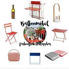 Balkonmöbel - 3 Looks für kleine Balkone by Design Bestseller
