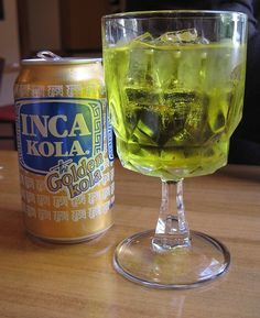 Peru Food: Inca Kola: The Curious Peruvian Cola, Or The Story Of The Little Cola That Could