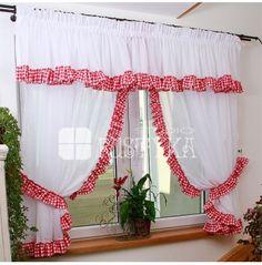 Komplet Kuchenne Rewolucje Sielskie Klimaty kratka#rideaux #cortinas  #firany #deco #szyjemy #dekoratorka #provensal #okno #stylista #dekoracje #homedecoration #curtains #home
