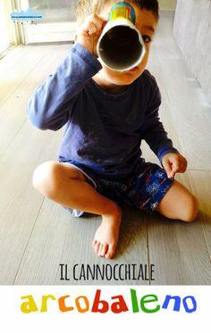 Quandofuoripiove: giocattoli fai-da-te: il cannocchiale arcobaleno
