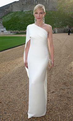 Cate Blanchett in Ralph Lauren.