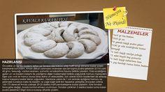 """""""Bir Pasta Masalı"""" programında Hümeyra Aydoğdu'nun sizler için yaptığı """"Kavala Kurabiyesi"""" tarifi."""