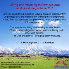 Our Immigration Advisors for New Zealand are offering expert migration advice – we are specialized in providing business migration solutions for overseas clients. Work In New Zealand, Auckland, Advice, How To Plan, Student, Life, Tips