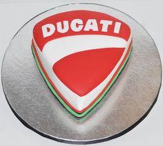 Ducati Motorcycle Birthday Cake