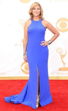 Edie Falco from 2013 Emmys: Red Carpet Arrivals | E! Online