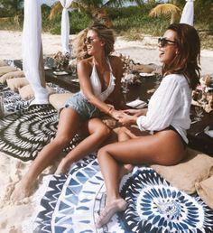 Natasha Oakley and Devin Brugman, the ultimate beach babe BFFS