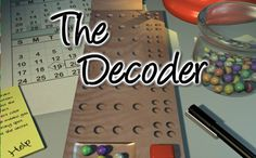Can you determine the invisible combination? In this challenge activity of sleuthing, use process-of removal to determine the appropriate mixture of shaded glass beads. http://funnkidsgames.com/decoder/