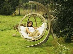 What else could a girl ask for?  Google Image Result for http://www.floatproject.org/wp-content/uploads/2011/10/Wooden-outdoor-swings.jpg