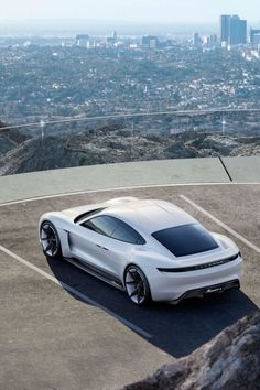 Porsche Mission E Concept is the 1st all-electric car is generated by two electric motors with more than 600 hp, a four-seat sports car with a 310 mile range, and acceleration power of zero to 62 in 3.5 seconds. Click here.