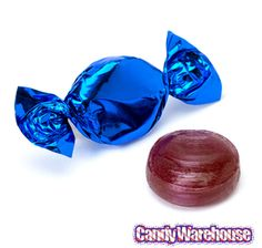 Just found Metallic Foiled Hard Candy Buttons - Blue: Bag Thanks for the