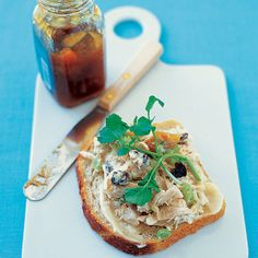 This recipe from Priscilla Lukens of Devon, Pennsylvania is not your average chicken salad -- it combines sweet mango chutney with creamy sour cream and mayonnaise, plus the bite of honey mustard.