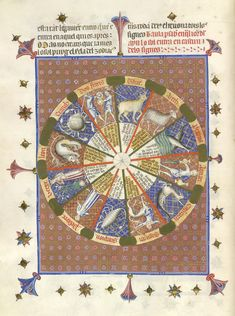 Breviari d'Amour - caption: 'The Zodiac' | Flickr - Photo Sharing!