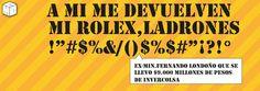 Rolex de Fernando Londoño