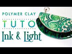 [TUTO] Collier Cernit Translucent & IZINK- Vitrail et Poterie - YouTube