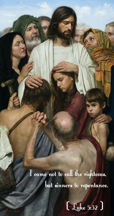 Christ Heals The Sick by Jeff Hein. God and Jesus Christ Jesus Our Savior, Jesus Is Lord, Image Jesus, Images Of Christ, Religion, Saint Esprit, Jesus Christus, Biblical Art, Jesus Pictures