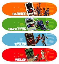 Mattel Themed Skateboards by Aesthetics Skate Decks, Skateboard Decks, Skateboards, Arcade Games, Aesthetics, Things To Sell, Style, Swag, Skate Board