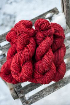 Hayden DK Hand Dyed Superwash Merino Yarn by lakesyarnandfiber