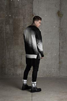 "Cozy Monochrome Couture : Represent 2015 Fall/Winter ""STORM"" Lookbook"