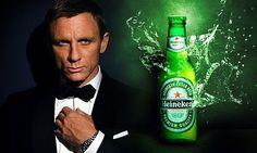 heineken beer james bond   Placement of Heineken in New James Bond Movie