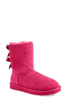 UGG® Australia 'Bailey Bow - Exotic Scales' Boot (Women) available at #Nordstrom