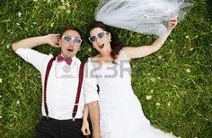 結婚式の肖像画 ストックフォト - 22153231