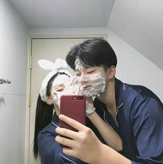 Find images and videos about love, couple and korean on We Heart It - the app to get lost in what you love. Relationship Goals Pictures, Cute Relationships, Ulzzang Couple, Ulzzang Girl, Cute Couples Goals, Couple Goals, Korean Best Friends, Cute Korean Girl, Couple Aesthetic