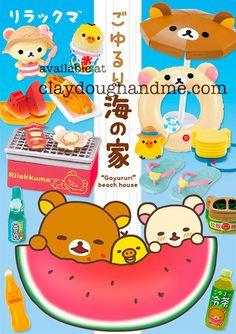 Re-Ment Miniature Sanrio San X Rilakkuma Hot Spring Kitchen Breakfast # 2