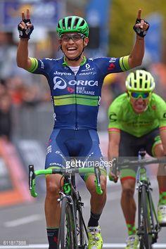 Cycling: 110th Il Lombardia 2016 Arrival / Johan ESTEBAN CHAVES... #chaves: Cycling: 110th Il Lombardia 2016 Arrival / Johan… #chaves
