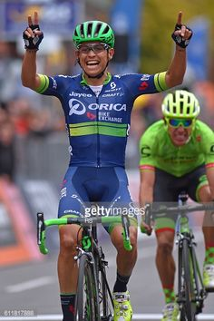 Cycling: 110th Il Lombardia 2016 Arrival / Johan ESTEBAN CHAVES... #chaves: Cycling: 110th Il Lombardia 2016 Arrival / Johan… #chaves