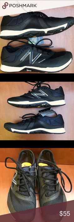 NEW BALANCE Minimus Training Shoe, Women's 9, NWT NB Maximus training shoe; Vibram outsole; Lace up; breathable Leah upper with burrito tongue. Made of fabric and synthetic; rubber sole.  NWT. New Balance Shoes Athletic Shoes